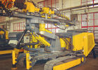 Hydraulic Crawler Drills Compact Size For Speed Adjusting with  360° in horizontal direction