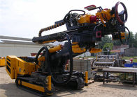Hydraulic Crawler Drills SM-300 Double Motor Lifting Force 50KN With High Rotation Speed