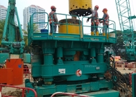 25 Ton All Casing And Rotation Drilling Rig Diesel Power And 600-1300 mm Diameter