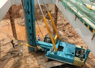 Construction Concrete Piles 186KW Hydraulic Piling Rig
