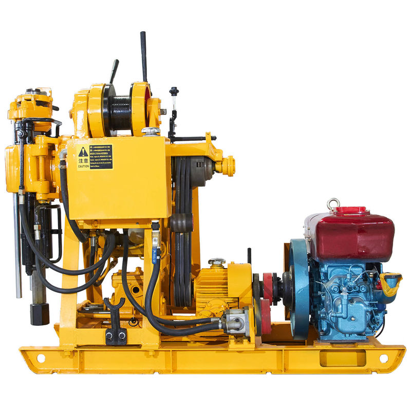 Mechanical Spindle Trailer Type Core Drilling Equipment High Rotating Exploration