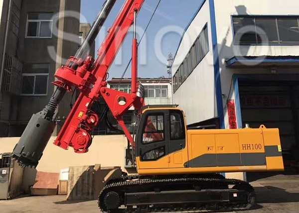 High Speed Soil Rejection Head Rotary Drilling Rig Stability Mud Drilling Machine