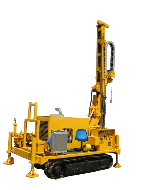 SNR300C Diesel Crawler Waterwell Drilling Rig With 300m Max Drilling Depth
