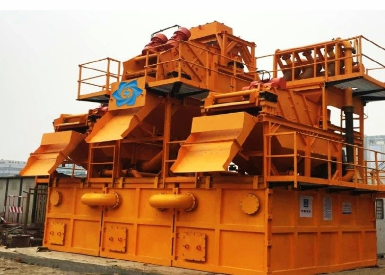 99KW 500 M³/H Slurry Mud Desanding Equipment