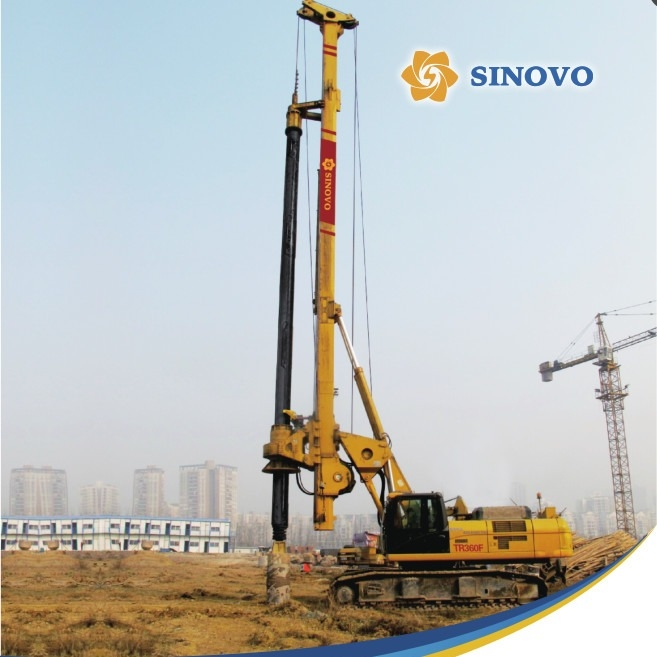261kW 88m Depth 2500Mm Diameter Rotary Drilling Rigs