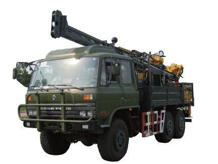 132kw 56mm Dia 1000m Depth Mobile Drilling Rigs