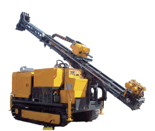 56mm Depth 1500m Dia Crawler Type Limestone Drilling