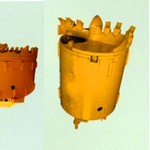 520mm Height Double Bottom Clay Bauer Rock Drilling Bucket
